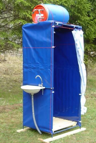 Летний душ для дачи Бриз.
